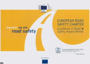 Excellence road safety award to Czech transport research centre