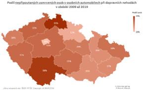 TZ: Na českých silnicích zemře ročně 80 nepřipoutaných osob 02