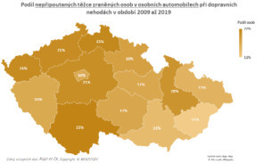 TZ: Na českých silnicích zemře ročně 80 nepřipoutaných osob 03
