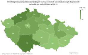 TZ: Na českých silnicích zemře ročně 80 nepřipoutaných osob 04